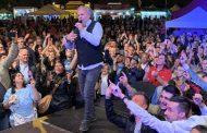 Jerry Calà in concerto sabato a Fara Novarese
