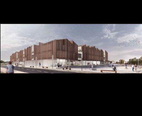 nuovo stadio Piola cittadella dello sport Novara Andrea Maffei