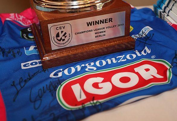 Nuovo forma in Champions: 4° turno concentrato in tre giorni con gare d'andata tutte al Pala Igor