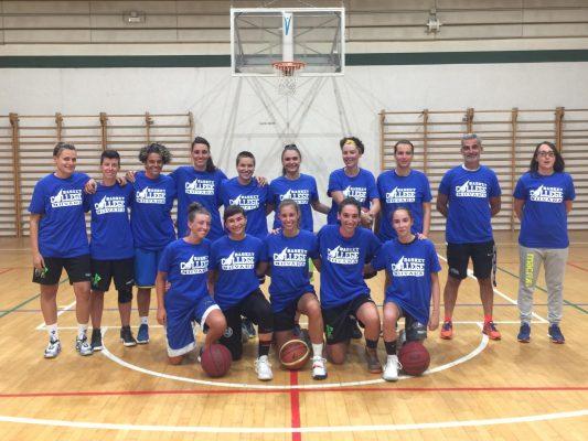 Basket College Novara, ha inizio l'avventura della serie C femminile