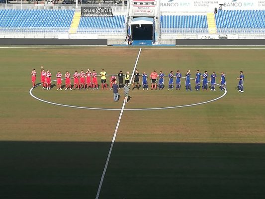 Novara calcio Seregno 3-1 Bertani Gonzalez