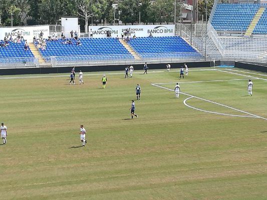 Novara Verbania 2-0 amichevole Silvio Piola