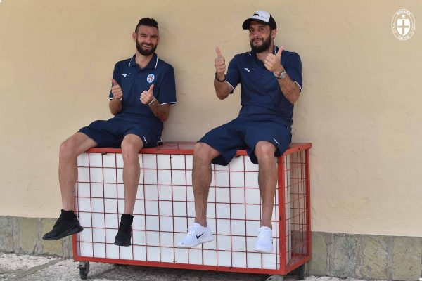 Pablo e Buba guidano gli azzurrini alla prima di Coppa Italia a Francavilla