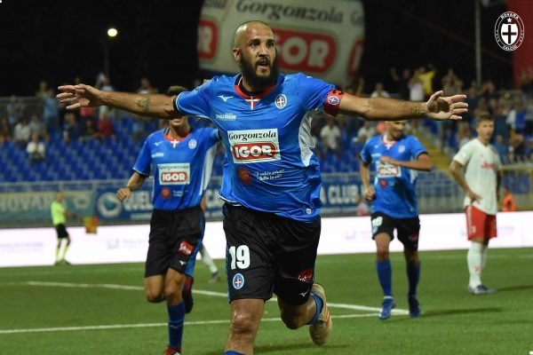 Renate-Novara 1-2 Play-Off serie C Pablo Gonzalez