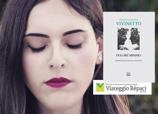 """Interlinea vince il Viareggio Opera prima con """"Dolore minimo"""" di Giovanna Vivinetto."""