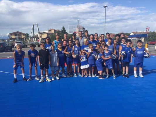 Basket College Novara La Lucciola open day S.Martino