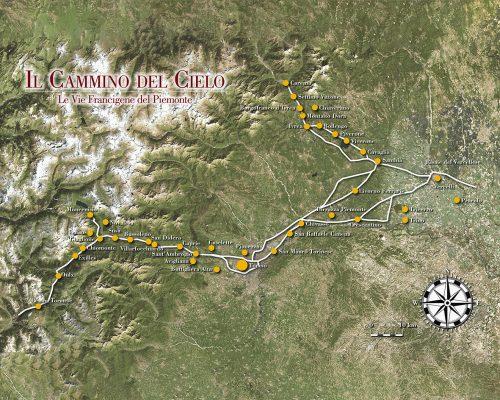 Il cammino del cielo le vie Francigene in Piemonte