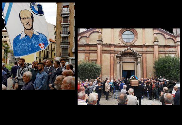 L'addio dei novaresi al Nini. Giovanni Udovicich eletto simbolo di tutti i cuori azzurri
