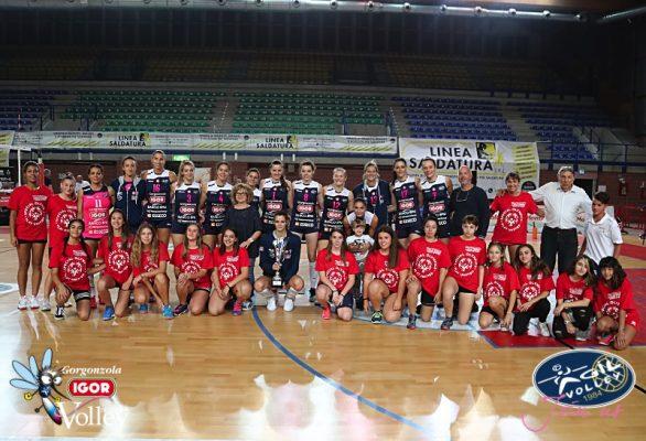 Novara vince il Torneo Internazionale di Mantova. Per la Igor brillano Vasileva ed Hancock