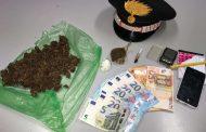 Minimarket della droga scoperto a Galliate: 31enne arrestato dai carabinieri