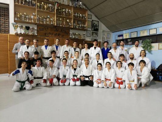 Allenamento con la Nazionale Svizzera, comincia la stagione della Judo Ju Jitsu Novara