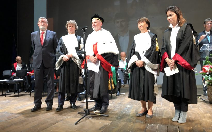 Alberto Angela neo laureato dell'Upo