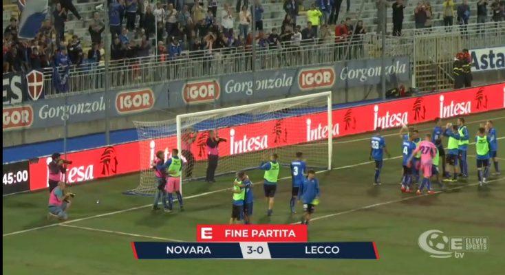 Novara batte Lecco 3-0, apoteosi azzurra nel segno di Udovicich e il Piola torna fortino