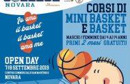 Il Basket College Novara - La Lucciola invade l'Ipercoop con il suo Open Day
