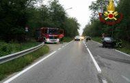 Scontro fra auto a Galliate, un ferito in ospedale