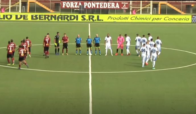 Nova calcio Pontedera 3 giornata serie C Lega Pro