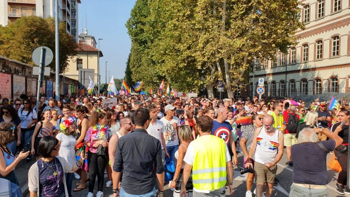 Novara Pride nel ricordo di Elisa.