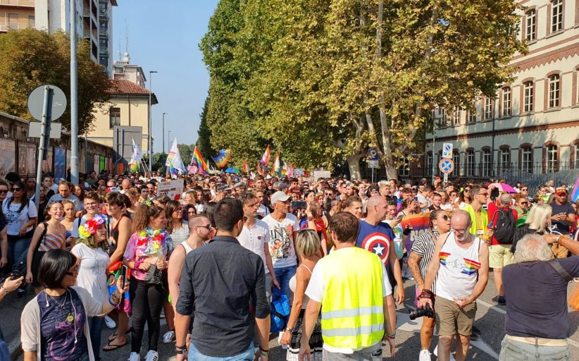 Novara Pride nel ricordo di Elisa