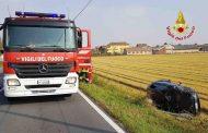 Casalino: incidente fra due auto, tre feriti