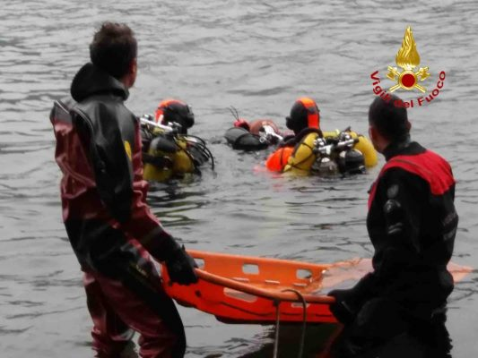 Recuperato il corpo del sub biellese nelle acque del lago d'Orta
