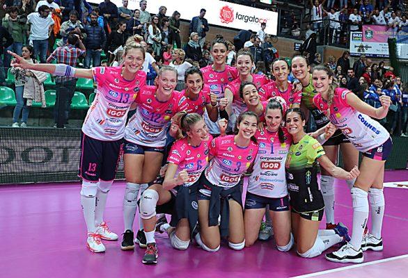 Esordio vincete a Cuneo 1-3 per Novara. La nuova Igor punta sul collettivo