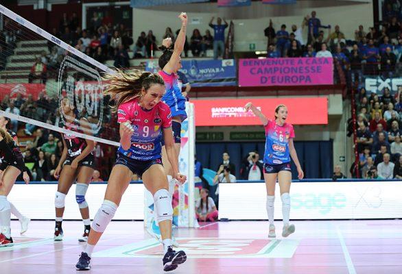 Novara batte Busto 3-1: il derby del Ticino è azzurro