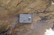 Una targa in montagna per ricordare Fabio