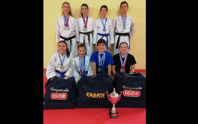 Coppa Italia U.K.S Karate Alzano Lombardo San Sui Kan Novara