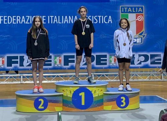 Andrea Contaldo Team Quisquash 2000 Novara Daria Cambi campionati italiani strappo e slancio