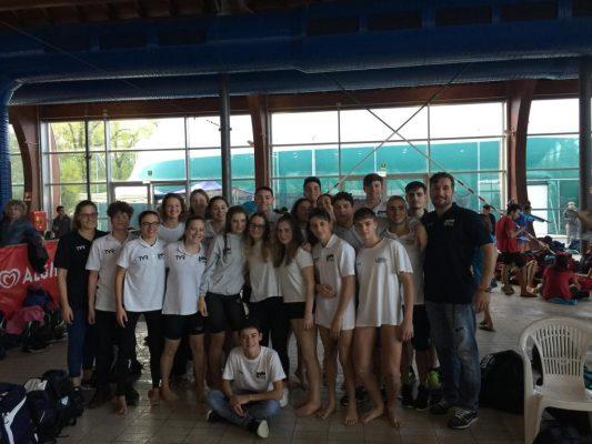 Parte bene la stagione per la Libertas Novara, a Cremona 16 medaglie e 24 podi