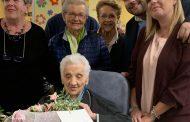 A Novara festa per i 104 anni di nonna Andreina