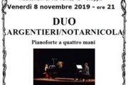 Concerto di piano a quattro mani venerdì a Oleggio