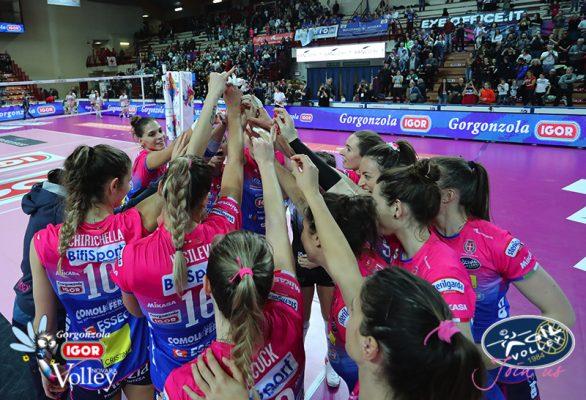 Igor Novara formato Champions. 3-0 a Stoccarda e 1º posto nel girone
