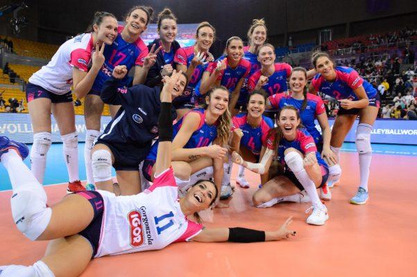 Missione Champions compiuta, a Odessa l'Igor Novara passeggia 3-0 sul Khimik Yuzhny