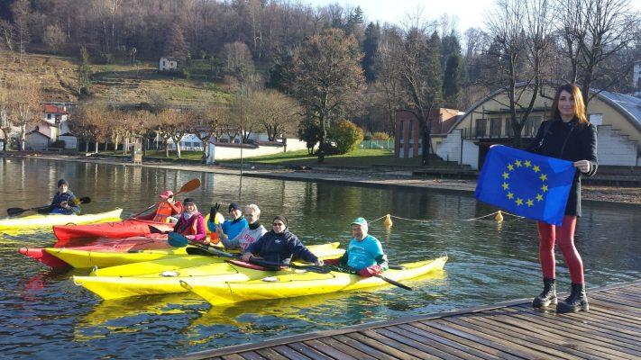 lago Orta Meeting Natale Margrit Richner Guido Maino Lido Gozzano Comune Europeo Sport