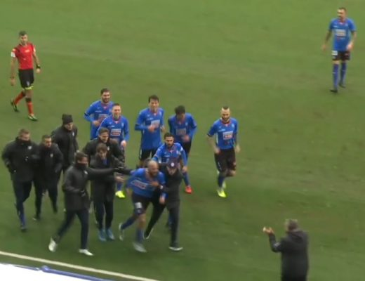 Novara calcio Pianese Lega Pro serie C 1-1