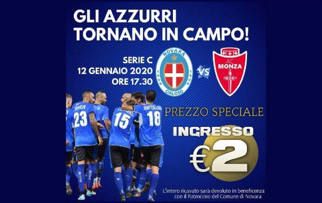 Novara-Monza comincia in Pediatria. Biglietti a due euro per aiutare i piccoli pazienti