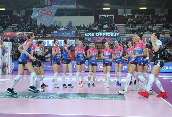 Novara non fa sconti e supera di slancio anche Filottrano. Igor-Lardini 3-0