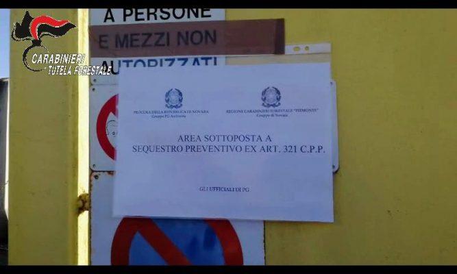 sequestro discarica denuncia Marano Ticino