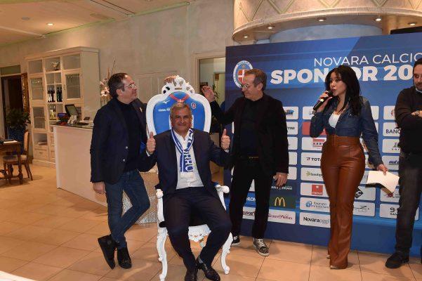 donazione pediatria Novara calcio Rullo trono gemelli Milano