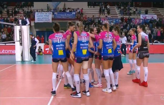Igor bella di Champions: 3-0 al Lodz, 1° posto nel girone e testa di serie nei quarti di CEV
