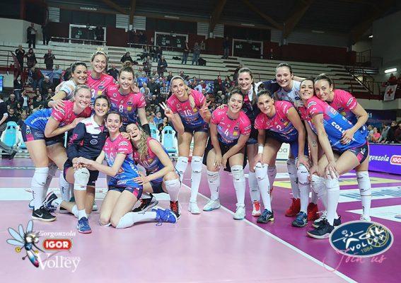 Igor Novara Savino del Bene Scandicci 3-1 volley A1
