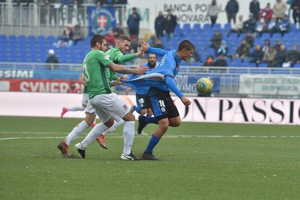 Novara padrona, contro il Gozzano azzurri sul velluto: il derby del lago d'Orta finisce 4-1
