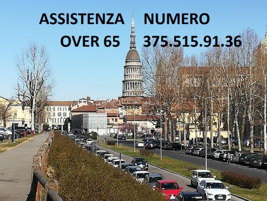 Servizio Assistenza telefono Comune Novara over 65