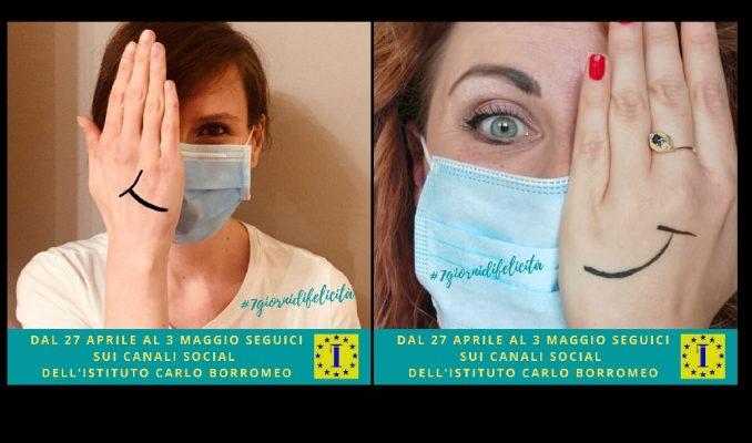 #7giornidifelicità contest istituto carlo Borromeo Borgomanero Barbara Ferrarese Valentina Oioli