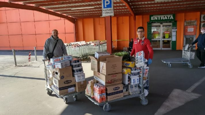 donazione Associazione Salentini novaresi Parrocchia Lumellongo Ospedale Maggiore Novara
