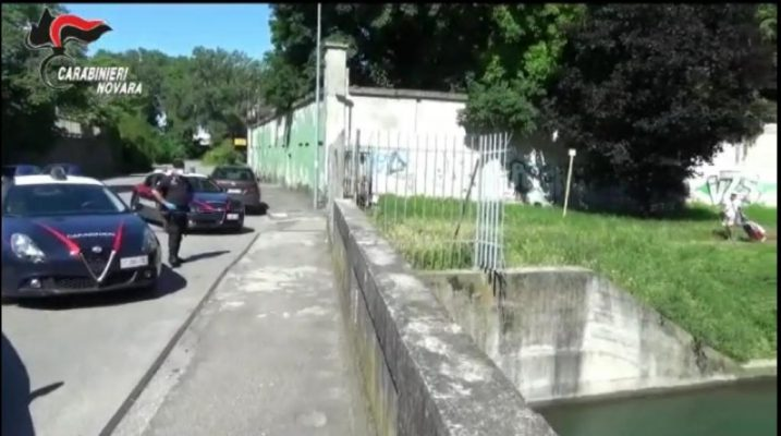 Carabinieri Novara arresti droga spaccio