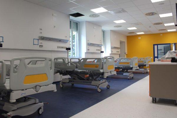 Grazie alla Fondazione De Agostini, Novara ha una nuova terapia intensiva/subintensiva. Le Foto