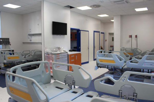 donazione Fondazione De Agostini terapia intensiva Ospedale Maggiore Novara
