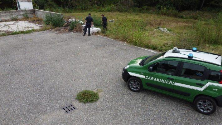 sequestro rifiuti meccanico autofficina Carpignano Sesia